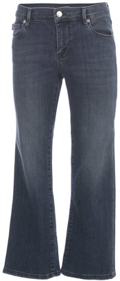 Love Moschino Cropped Flare Jeans