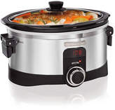 Hamilton Beach 6 Quart Intelligent Slow Cooker With Lid Latch