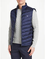 Gant Airie Quilted Down Gilet, Navy