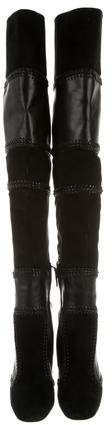 Tom Ford Suede Over-The-Knee Boots