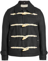 Burberry Wool Jacket with Toggles