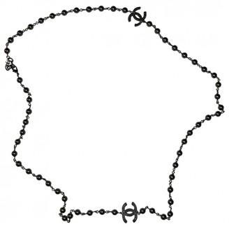 Chanel Grey Pearl Necklaces