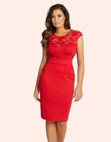 Jessica Wright Lace Bodycon Dress