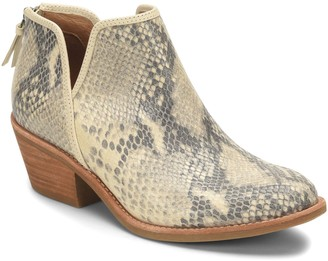 Sofft Statement Leather Booties - Abena