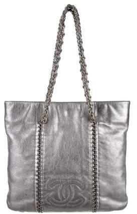 Chanel Metallic Luxe Ligne Tote