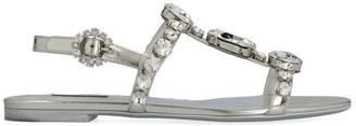 Dolce & Gabbana Jewel Embellished Sandals