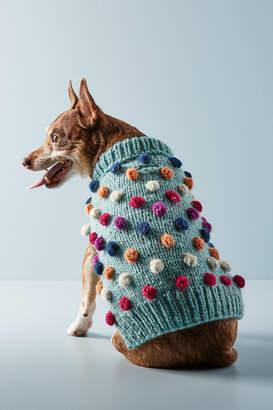 Love Thy Beast Pom Pom Dog Sweater