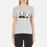 Karl Lagerfeld Women's and Choupette Music TShirt - Grey