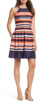 Vince Camuto Women's Halter Fit & Flare Dress