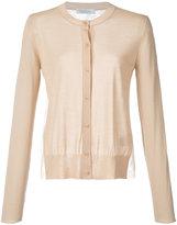 Ryan Roche - cashmere slim fit cardigan - women - Silk/Cashmere - M