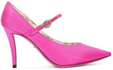 Gucci Pink Virginia Mary Jane Heels