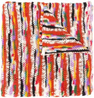 Missoni Intarsia Chunky-Knit Scarf