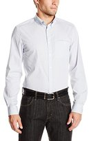 Kenneth Cole New York Kenneth Cole Men's Long Sleeve Slim Check Shirt