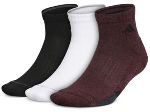 adidas Men's 3-Pk. Cushioned Quarter Socks