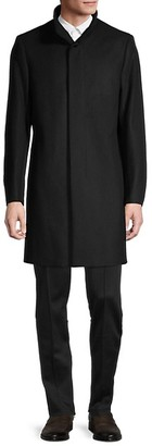Theory Belvin Melton Wool-Blend Coat