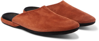 Charvet Suede Slippers - Men - Brown