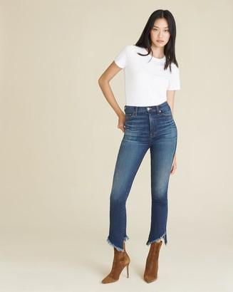 Veronica Beard Danni High-Rise Kick-Flare Jean