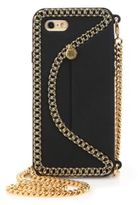 Stella McCartney Embossed Envelope Silicone Chain iPhone 6 Case