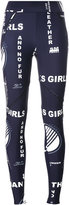 Stella McCartney Thanks Girls printed leggings - women - Elastodiene/Polyamide - 38