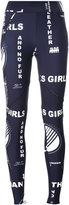 Stella McCartney Thanks Girls printed leggings