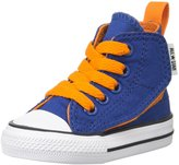 Converse Chuck Taylor All Star HI (Inf/Tod) - Roadtrip Blue/Orange/White - 3 Infant