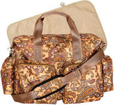 Trend Lab TREND LAB, LLC Paisley Deluxe Duffle Diaper Bag