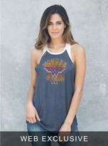 Junk Food Clothing Wonder Woman Usa Raglan Tank
