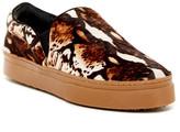 Schutz Amisha Genuine Rabbit Fur Slip-On Sneaker