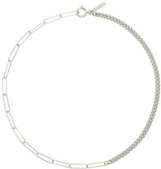 Justine Clenquet Silver Nico Necklace