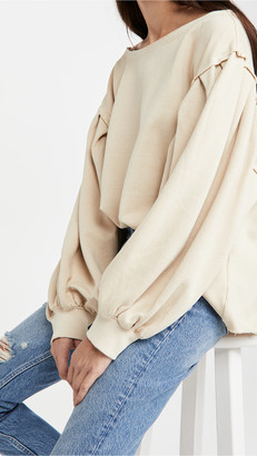 Free People Rosey Pullover