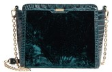 Brahmin Ivy Cellini Carrie Embossed Velvet Crossbody Bag - Green