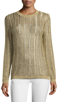 Endless Rose Crewneck Ribbed Sweater