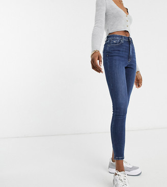 Tommy Jeans high rise skinny in mid wash blue