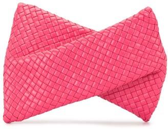 Bottega Veneta Woven-Effect Clutch Bag