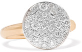 Pomellato Sabbia 18-karat Rose Gold Diamond Ring - 13