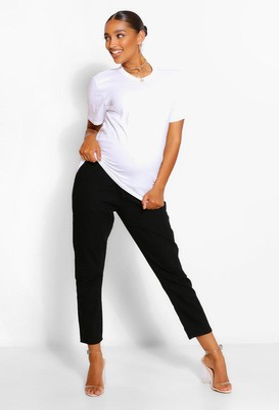 boohoo Maternity Straight Leg Over The Bump Jean