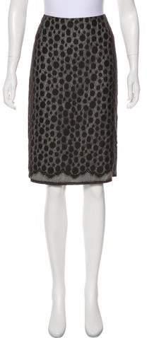 27be35f61 Polka Dot Pencil Skirt - ShopStyle