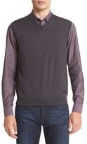 Armani Collezioni Men's Wool Sweater Vest