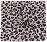 Steffen Schraut leopard print knit top