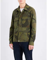 Paul Smith Camo-print cotton shirt jacket