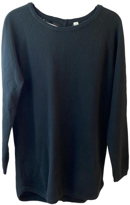 Chinti and Parker Black Cashmere Knitwear