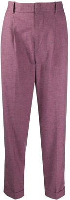 Etoile Isabel Marant Lowea turn-up trousers