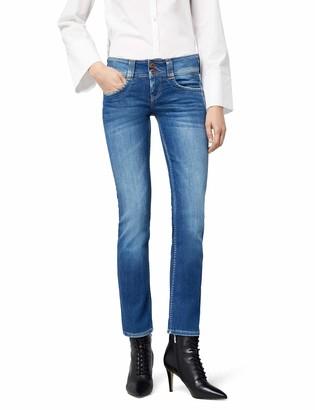 Pepe Jeans Women's Gen D45 Straight Jeans Blue (Denim) W30/L32 (Manufacturer Size: W30/L32)