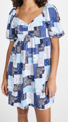 ENGLISH FACTORY Paisley Babydoll Dress
