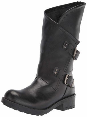 Musse & Cloud Women's Motorcycle Boot Fashion