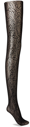 Wolford True Blossom Stretch-jacquard Tights