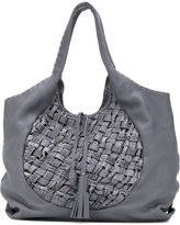 Henry Beguelin large woven tote - women - Leather - One Size