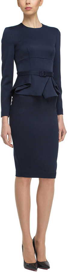 BGL 2Pc Wool-Blend Jacket & Skirt Set