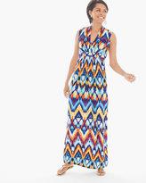 Chico's Jasmina Ikat Maxi Dress