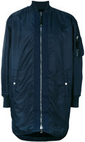 Diesel Black Gold zipped bomber jacket - men - Polyamide/Polyester/Spandex/Elastane - 46
